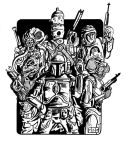 Vader's Bounty Hunters INKS by sedani