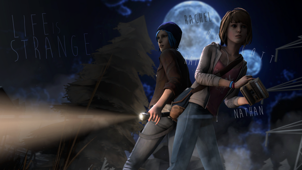 Life is Spooky (Life is Strange Wallpaper) by TheShabbyCat