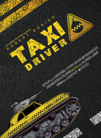 My version of TAXI DRIVER movie Poster by the-lines