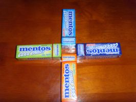Mentos Cool Chew 4 Flavors by Gexon