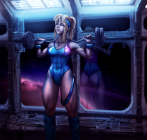 samus workout by GFITHER