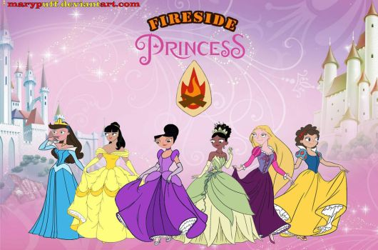 Disney Crossover - Fireside Princess by Marypuff