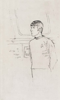 sketch (Spock) by N-Foxx