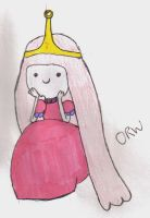 Adventure Time: Princess Bubblegum by OliviaWhyteART