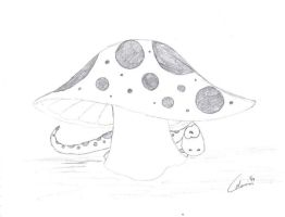 Gecko and Shroom by Dragonkitty13
