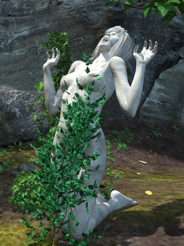 Forest-Statue-01 0001 by creativeguy59