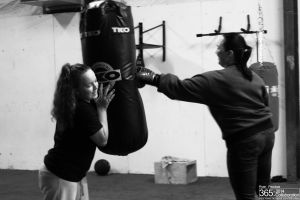 Mother-Daughter Heavybag Session by RyanP365