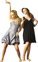 Ashley Tisdale-Miley Cyrus Png by Suyesil