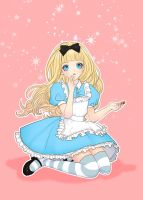 Alice in Wonderland by eliz7