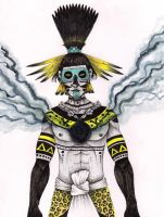 Tezcatlipoca by verreaux