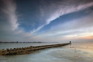 west on ice by BelcyrPiotr
