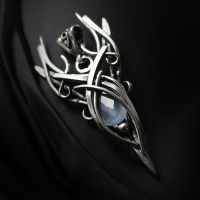 EXUNTH - Silver and Chalcedony by LUNARIEEN