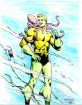Aquaman - Frandon - Egli - Watercolor by SurfTiki