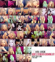 Avril Lavigne HTNGU Video Icons by mrsdiehard
