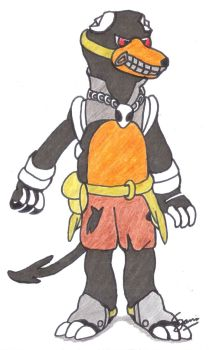 Pokemon: A Houndoom OC by TreeGecko