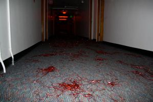 Bloody Tinsel Massacre by A-Glass-Brightly