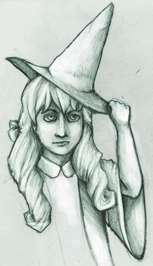 Lil Baby Witch by dragontamer75