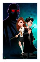 Harry and Hermione Final by PatrickFinch