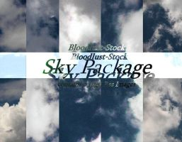 Sky Package by bloodlust-stock