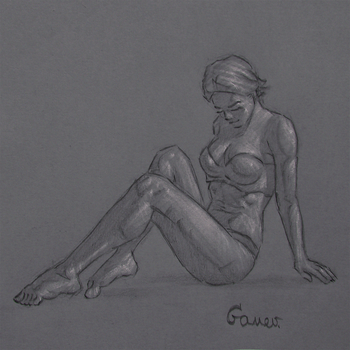 Figure Drawing #86 by AngelGanev