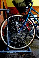 Bike wheels by SymmetricalLove