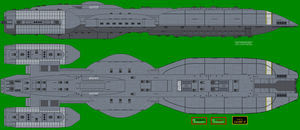 Battlestar Atlantis BSG-180 by XRaiderV1