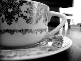 Your tea is getting cold by Speacial-J-Cerial