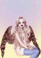 owl girl by Missliddlle