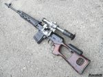Dragunov SVD Sniper Rifle 2 by Garr1971