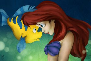 The Little Mermaid by Andreanable