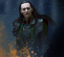 Loki - Burning It Up by RancidRainbow