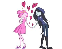 Princess Bubblegum Loves Marceline by Das-BAMFchen