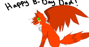 Happy B-day Dad! by X-CoyoteFeathers-X