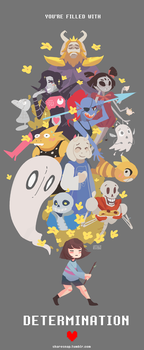 UNDERTALE by MasterCheefs