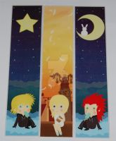 kingdom hearts bookmarks 3 by knil-maloon