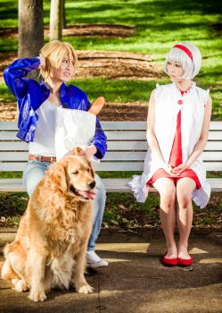 TnB: Keith and his Girl by christie-cosplay