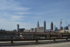 Downtown Cleveland Ohio by TomKilbane