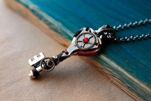 Steampunk key by Devil's Jewel by Catarios