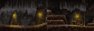 Mark of darkness map 9 - Cave screenshots by AlMaNeGrA