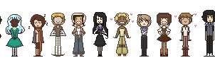 Pixeled Ocs by square-root