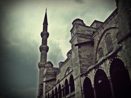 blue mosque by mesale