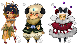 [CLOSED] Old Designs - Sprites ~ AUCTION by hoothoo