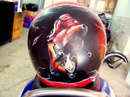 motorcycle helmet by velet