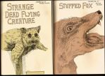 Stuffed sketches by Teagle