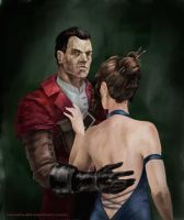 Daud The Knife of Dunwall by Nowio