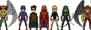 Justice League II movie micro by TheEndlessOne