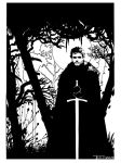 Robb Stark by artist Tom Kelly by TomKellyART