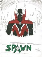 Spawn inks and colours by FG-Arcadia