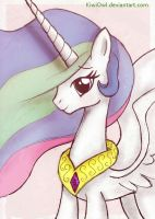 Princess Celestia by KiwiOwl