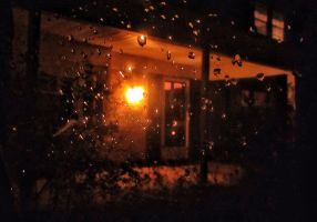 Rain on the Window by wdlougee